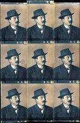 Passbilder um 1909