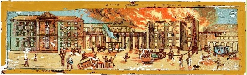Grossbrand um 1870