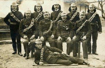 Freiwillige Feuerwehr um 1914