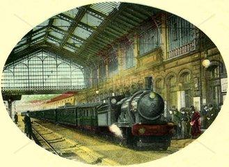 franzoesischer Bahnhof 1911
