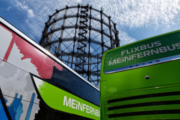 Berlin  Deutschland  neue Fernbus-Doppeldecker von MeinFernbus Flixbus