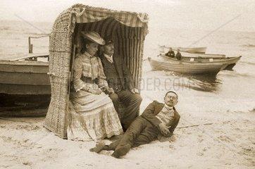 Urlaub an der Ostsee 1907