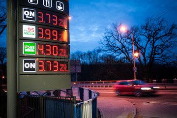 Niedriger Benzinpreis