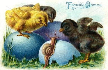Frohe Ostern 1905