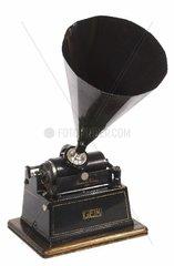Edison Phonograph um 1900