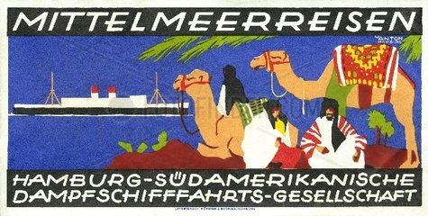 Mittelmeerreisen  um 1930
