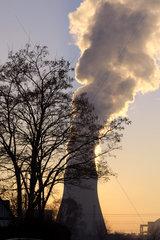 Kernkraftwerk Isar  bei Landshut