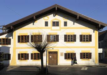 Geburtshaus Papst Benedikt XVI.  Marktl am Inn