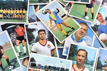 Fussball-Sammelbilder  1965