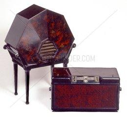 Philips Radio und Lautsprecher 1928