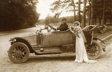 Hochzeitsreise 1916