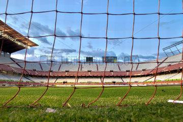 Sevilla  Spanien  leeres Sanchez Pizjuan Stadion