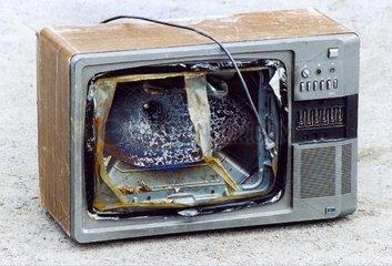 kaputter Fernseher