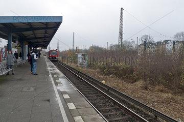 S-Bahn-Bahnhof Diebsteich  Hamburg