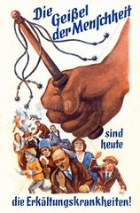 Werbung fuer Hustenbonbons  um 1926