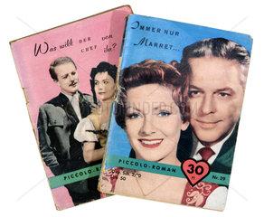 zwei Groschenromane  1956