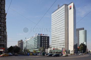 Bukarest  Rumaenien  Firmensitz der rumaenischen Bank BRD  Groupe Societe Generale S.A.