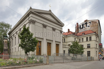 Berlin  Deutschland  die St.-Pauls-Kirche in Berlin-Gesundbrunnen