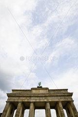 Germany  Berlin  Brandenburg Gate (West Berlin view)