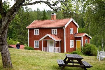 Loenneberga  Schweden  der Katthult-Hof