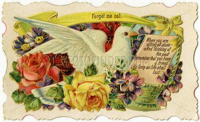 Poesiebild  Freundschaftskaertchen  Grossbritannien  1910