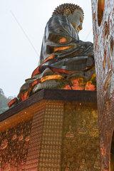 Large statue of buddha