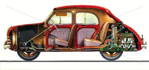 Renault 4 CV von 1955