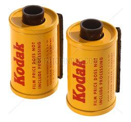 zwei Kodak-Diafilme  1958
