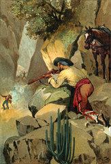 Heckenschuetze  Hinterhalt  1896