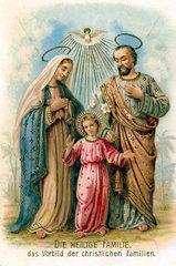 Die Heilige Familie  1915