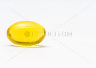 Evening primrose oil gelcap