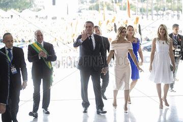 BRAZIL-BRASILIA-JAIR BOLSONARO-PRESIDENT-INAUGURATION