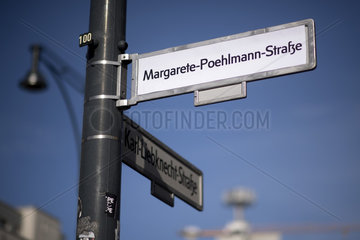 Strassenumbenennung International Woman's Day Berlin