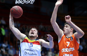 (SP)CROATIA-ZAGREB-BASKETBALL-EUROCUP-ROUND 1
