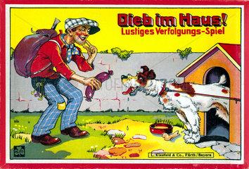 Dieb im Haus  Gesellschaftsspiel  um 1932