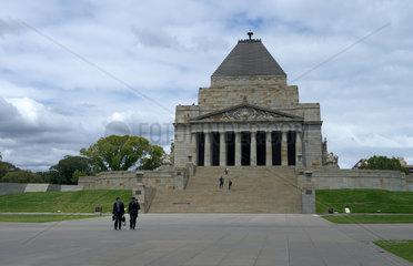 Melbourne  Australien  der Shrine of Remembrance