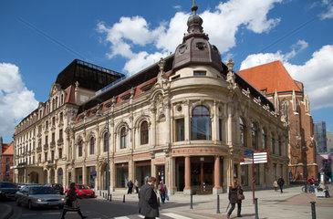 Breslau  Polen  das Hotel Monopol Wroclaw im neobarocken Stil