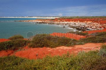 Broome  Australien  Kueste von Broome