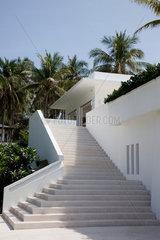 Phuket  Thailand  Steintreppe des Racha Island Resorts