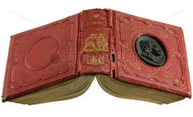 uraltes Buch  Friedrich Schiller  1847