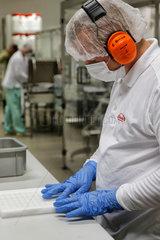 Oranienburg  Deutschland  Pharmakonzern Takeda GmbH
