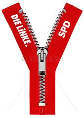 Symbolfoto Ypsilanti  rot-rote Koalition Hessen