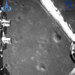 CHINA-CHANG'E-LUNAR PROBE-LANDING-IMAGE (CN)