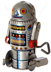 japanischer Spielzeugroboter  um 1972