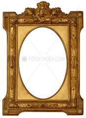 alter goldener Bilderrahmen  um 1870