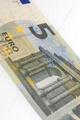 Berlin  Deutschland  5 Euro Schein