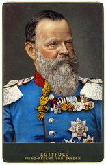 Prinzregent Luitpold von Bayern  um 1890