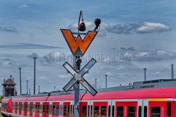 Wustermark  Deutschland  ungueltiges Rangierhaltsignal