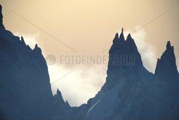 Alps  Mont Blanc  Peuterey