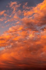 Rote Wolken - Sonnenuntergang 2